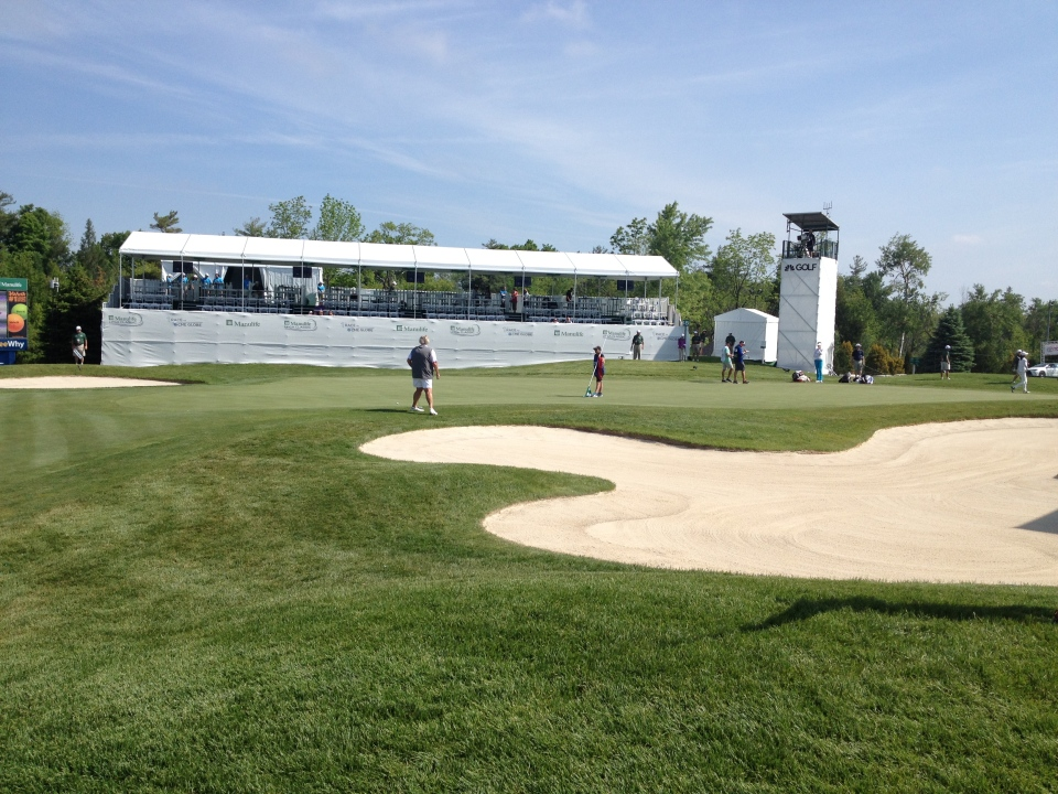 Whistle Bear Golf Club is host of the 2015 Manulife LPGA Classic.