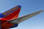 In this March 14, 2010 file photo, a Southwest Airlines plane is shown at Bob Hope Airport in Burbank, Calif. (AP / Paul Sakuma)