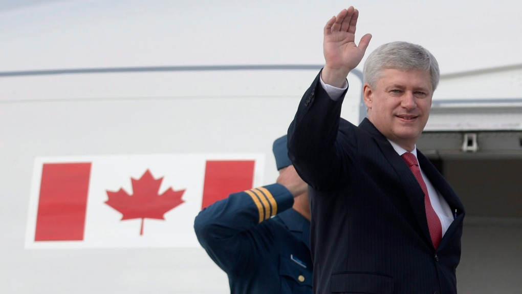 Stephen Harper heads to the G7 meeting