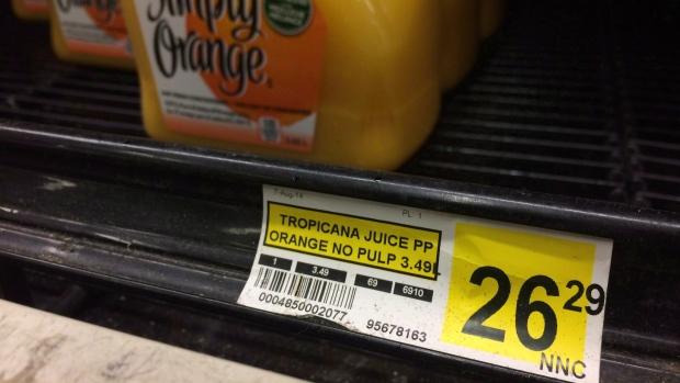 Food prices in Nunavut