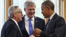 Stephen Harper at G7 summit