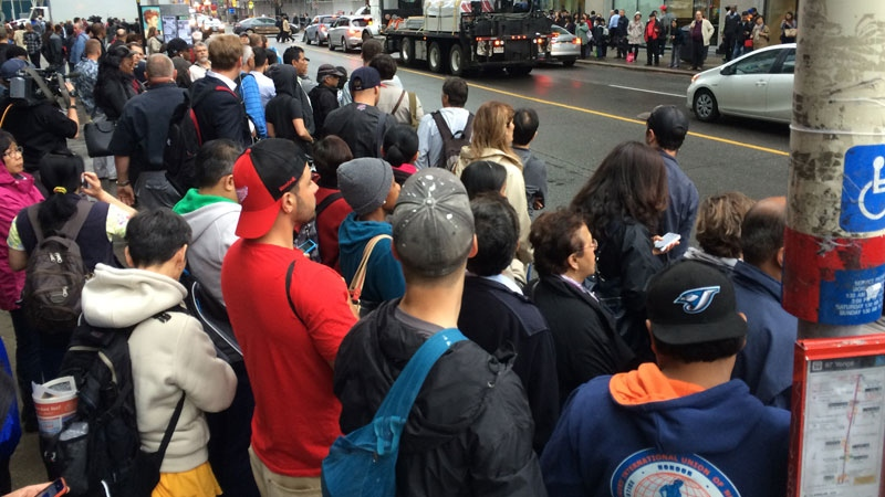 Toronto subway service halted