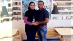 Ashtiana Rashidi, also known as Maryam, 35, is seen in this photo with her husband.