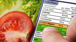 Front-of-package symbols proposed for foods high in sodium, sugar, saturated fat