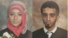 Sabrine Djaermane and El Mahdi Jamali face four terrorism-related charges
