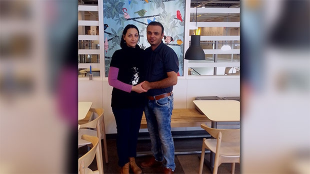 Maryam Rashidi Ashtiani, seen here with her husband Ahmad Nourani Shalloo, died in hospital on Tuesday, June 9, 2015.