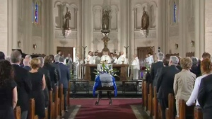 Parizeau funeral