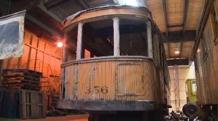 Streetcar 356, the final one of many that traversed Winnipeg's streets during the first half of the last century, will go on display after being restored.