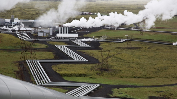 Reykjavik Energy's Hellisheidi geothermal plant