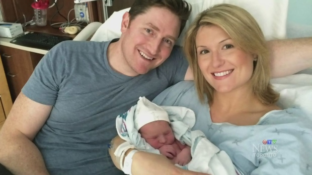 CTV Toronto: Anchor Michelle Dube gives birth | CTV News