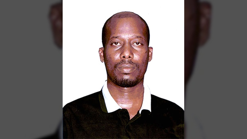 Ali Omar Ader is seen in this RCMP handout.