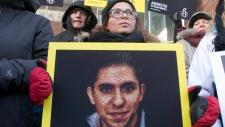 Protest - Saudi blogger Raif Badawi