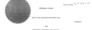 Save Our Saugeen Shores - Judicial Review