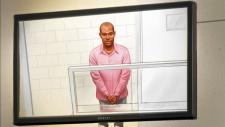 Ali Omar Ader kidnap suspect court sketch