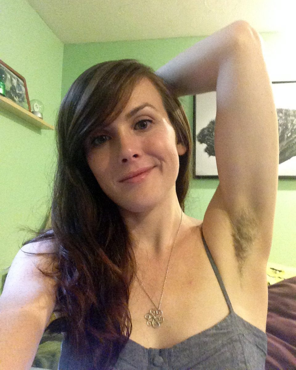 Social Media Shows Off Hairy Female Underarms As Women Take On