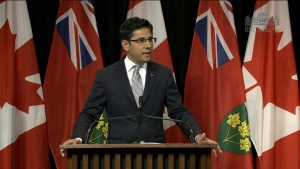 The Liberal government will introduce legislation to create safe zones around abortion clinics this fall, attorney general Yasir Naqvi announced Monday.