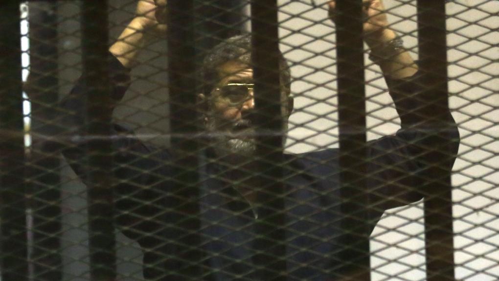 Death penalty confirmed for Mohammed Morsi