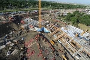 New Regina stadium aerial