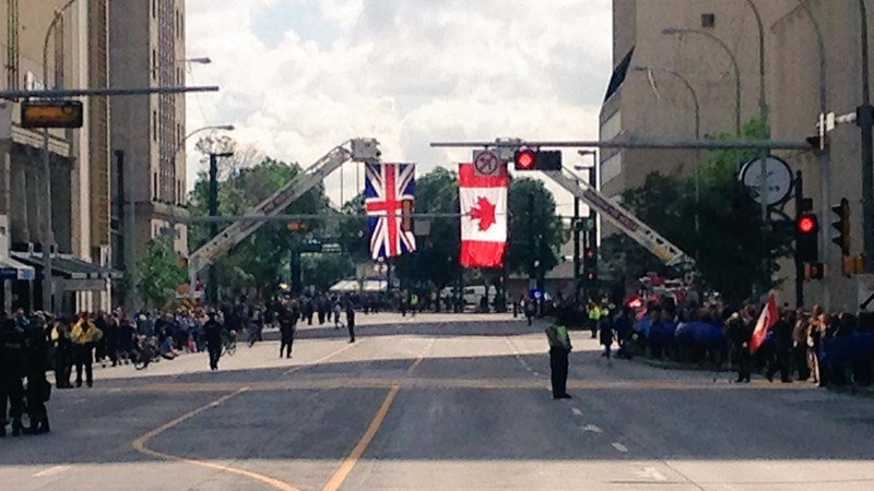 Tribute to Cst. Daniel Woodall