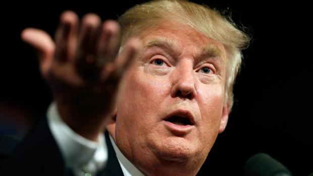 Donald Trump in Des Moines, Iowa