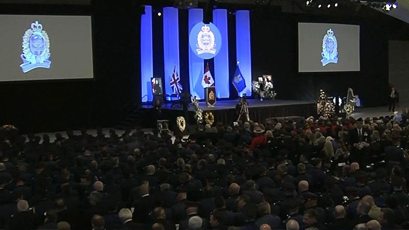 Cst. Woodall Regimental Funeral