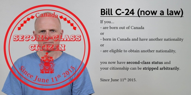 One Of The Posts Circulating On Facebook About Bill C