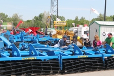 More than 45,000 visitors are expected to attend the 2015 installment of Canada's Farm Progress Show, which runs from June 17 to 19 at Evraz Place in Regina. (CTV REGINA/Ken Gousseau)
