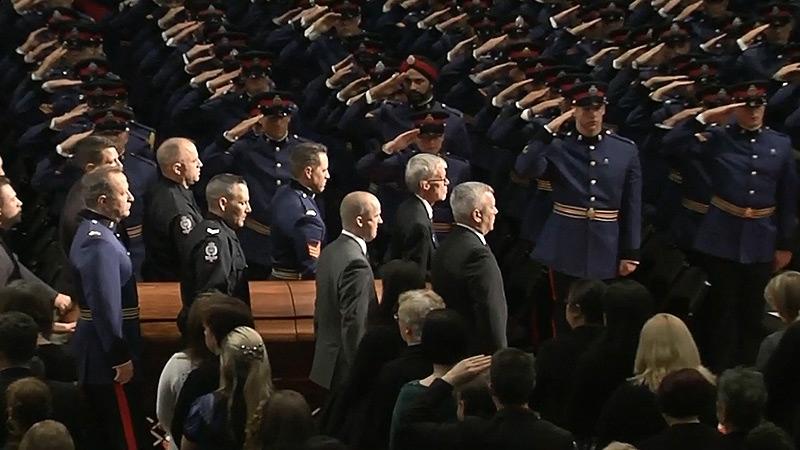 EPS officer salute
