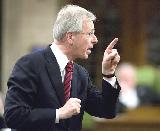 Liberal Leader Stephane Dion asks a question during question period in the House of Commons in Ottawa on April 26, 2007.(CP / Tom Hanson)