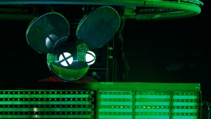 Joel Thomas Zimmerman, better known by his stage name deadmau5 performs at the Bonnaroo Music and Arts Festival in Manchester, Tenn., on Saturday, June 13, 2015. (Wade Payne / Invision)