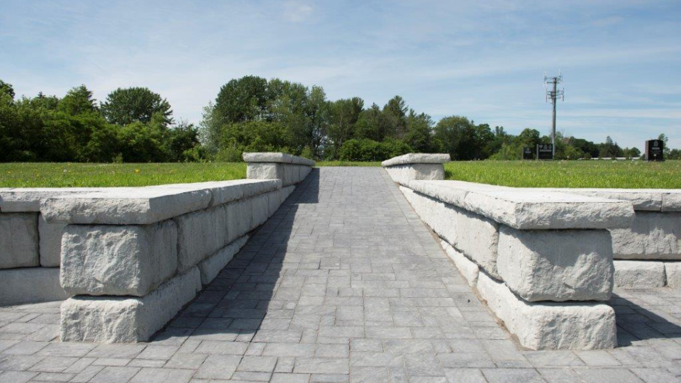 A pathway leading to Ottawa Police Memorial Cemetery. (OPS)