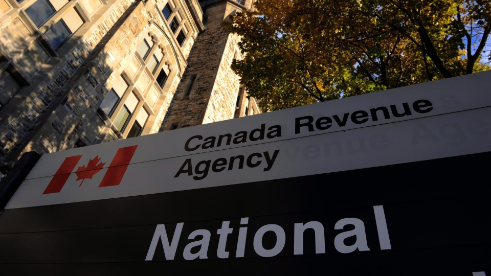 The Canada Revenue Agency headquarters in Ottawa is shown on November 4, 2011. (THE CANADIAN PRESS / Sean Kilpatrick)