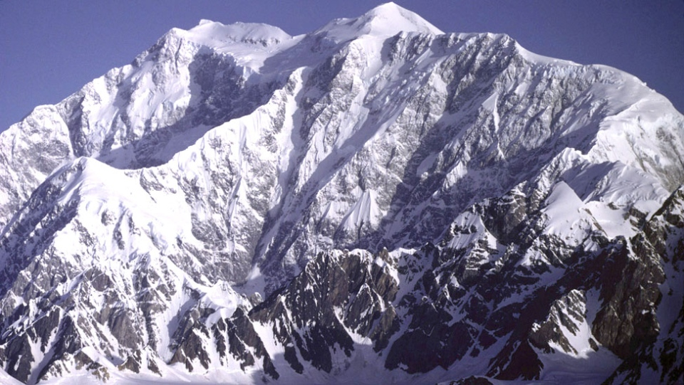 Mount Logan is seen in this undated image. (Gerald Holdsworth / NOAA)
