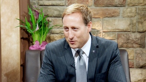 Justice Minister Peter McKay appears in an interview with CTV Atlantic on Friday, June 19, 2015.
