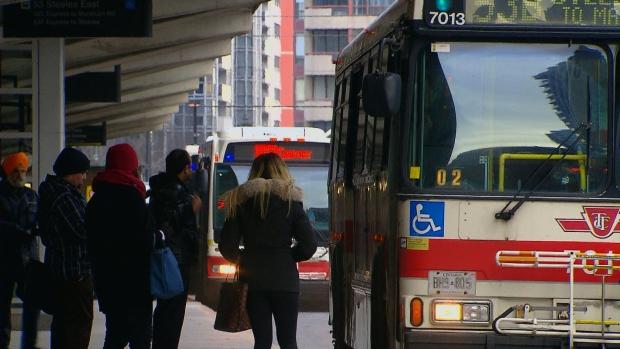 TTC, bus