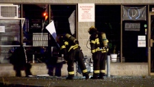 Explosion at Langley Vape store