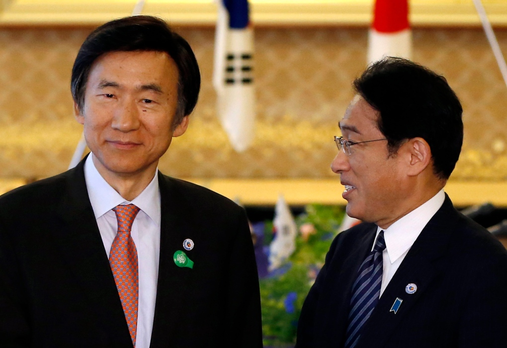 South Korean and Japanese ministers meet