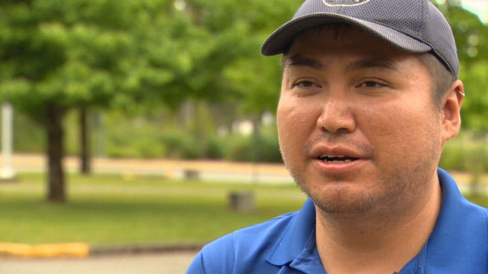 Hank Gus of the Tseshaht First Nation speaks with CTV Vancouver Island about the mysterious face.