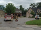A dozen homes were evacuated following a gas leak in west London, Ont. on Tuesday, June 23, 2015. (Chuck Dickson / CTV London)