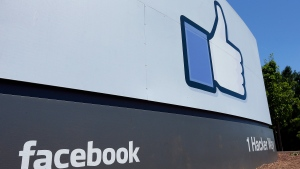 Facebook's headquarters is photographed, in Menlo Park, Calif., on July 16, 2013. (AP Photo/Ben Margot)