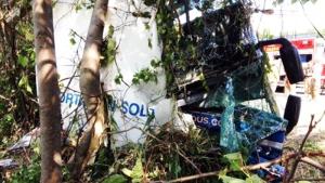 Extended:  Emergency crews at scene of 401 crash