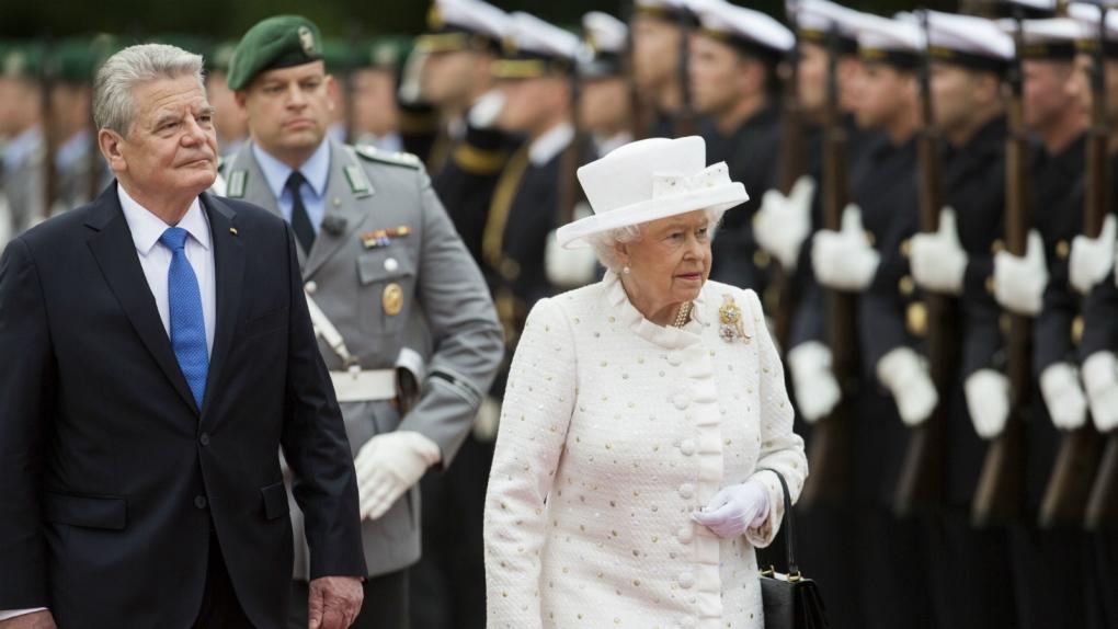 Queen Elizabeth II meets Germany's president