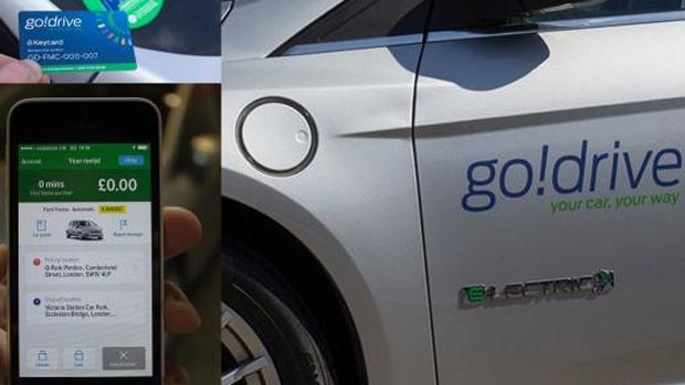 Ford's GoDrive car-sharing program