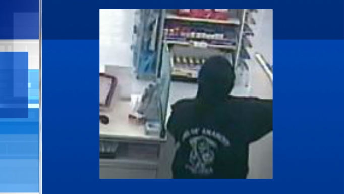 Barrie Police are search for this man after a theft at a Barrie Pharmacy on Wednesday, June 24, 2015. (Courtesy: Barrie Police)