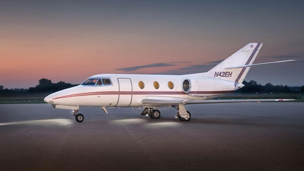 Falcon 10 jet