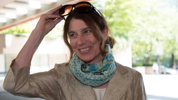 Laura Robinson, who is suing John Furlong