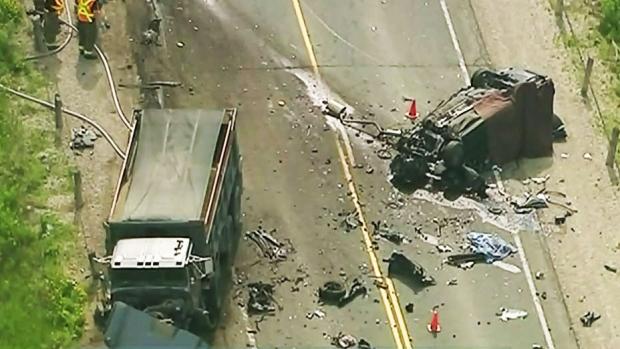 CTV Barrie: Fatal crash on Highway 89 | CTV News