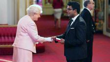 Aaron Joshua Pinto meets the Queen