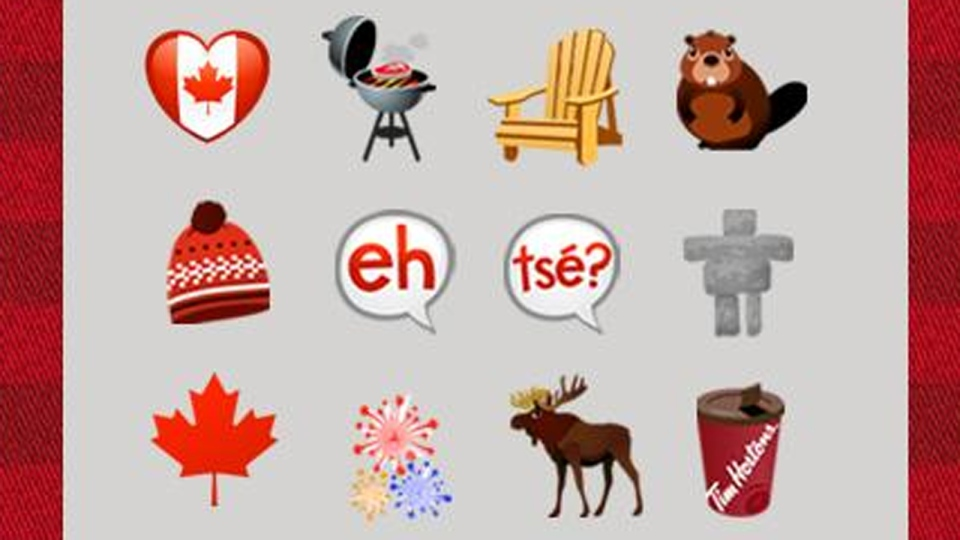 Eh Moji Keyboard Offers Canadian Emojis Ctv News