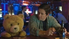 The character Ted, voiced by Seth MacFarlane, left, and Mark Wahlberg appear in a scene from 'Ted 2.' (Universal Pictures)